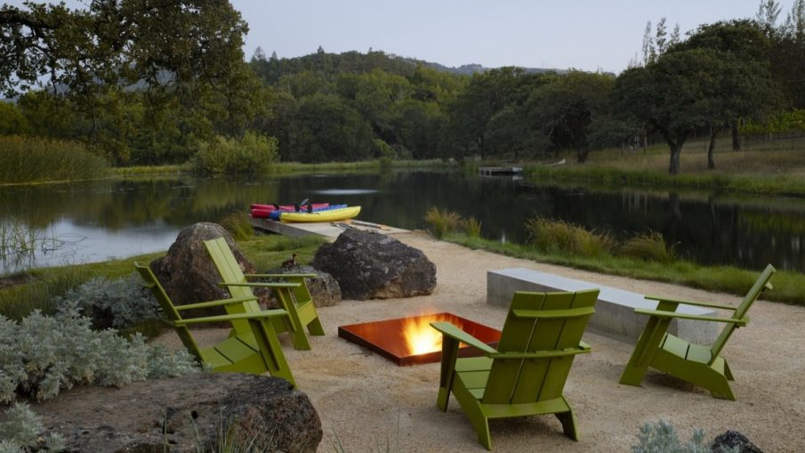 Magical Outdoor Fire Pit Seating Ideas