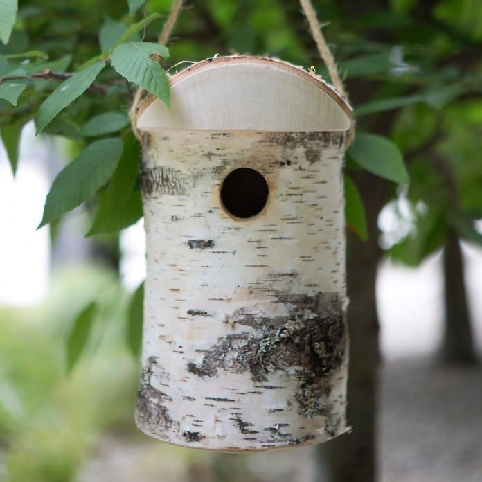 Birch bark Birdhouse