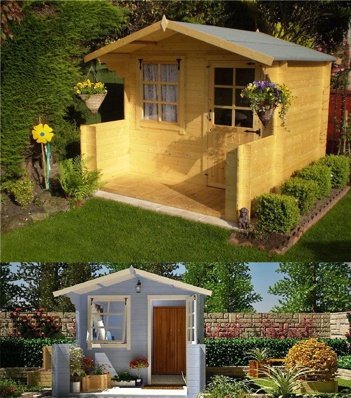 Garden nook cabin