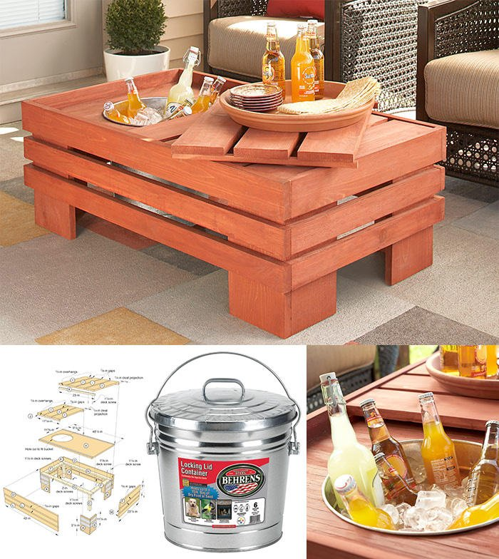 Beverage Table by Lowe's