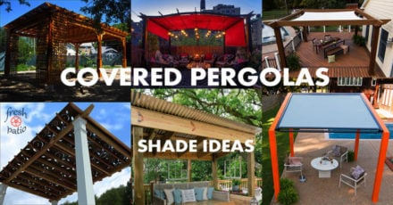Covered Pergola Designs for Best Shade Ideas