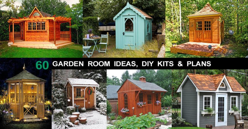 60 Garden Room Ideas Diy Kits For She