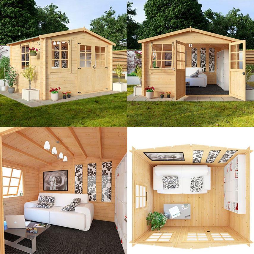 Garden shed cabin