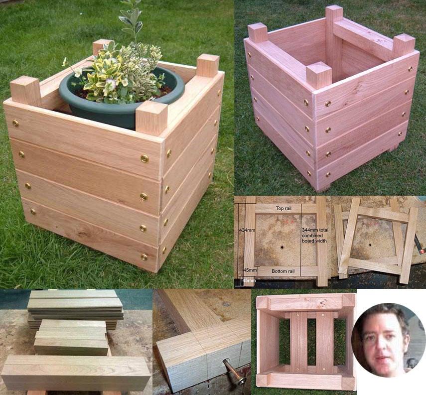 Square Box Planters 7 Jpg