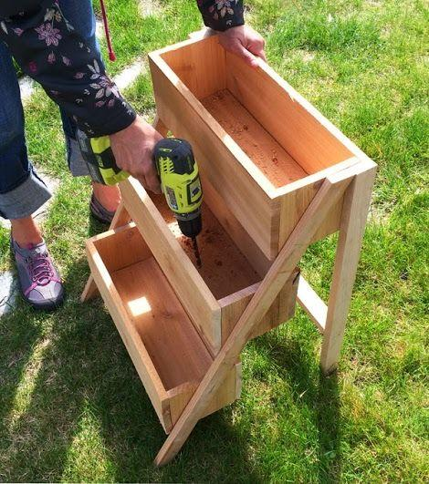 Super Simple Ideas For People Who Hate Yard Work: 50 Wooden Planter Box Ideas And DIY Designs Of Every