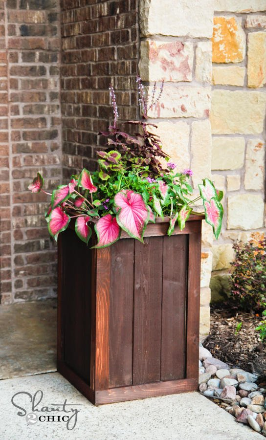 Do It Yourself Home Design: 10 Tall Planter Box Plans For DIY