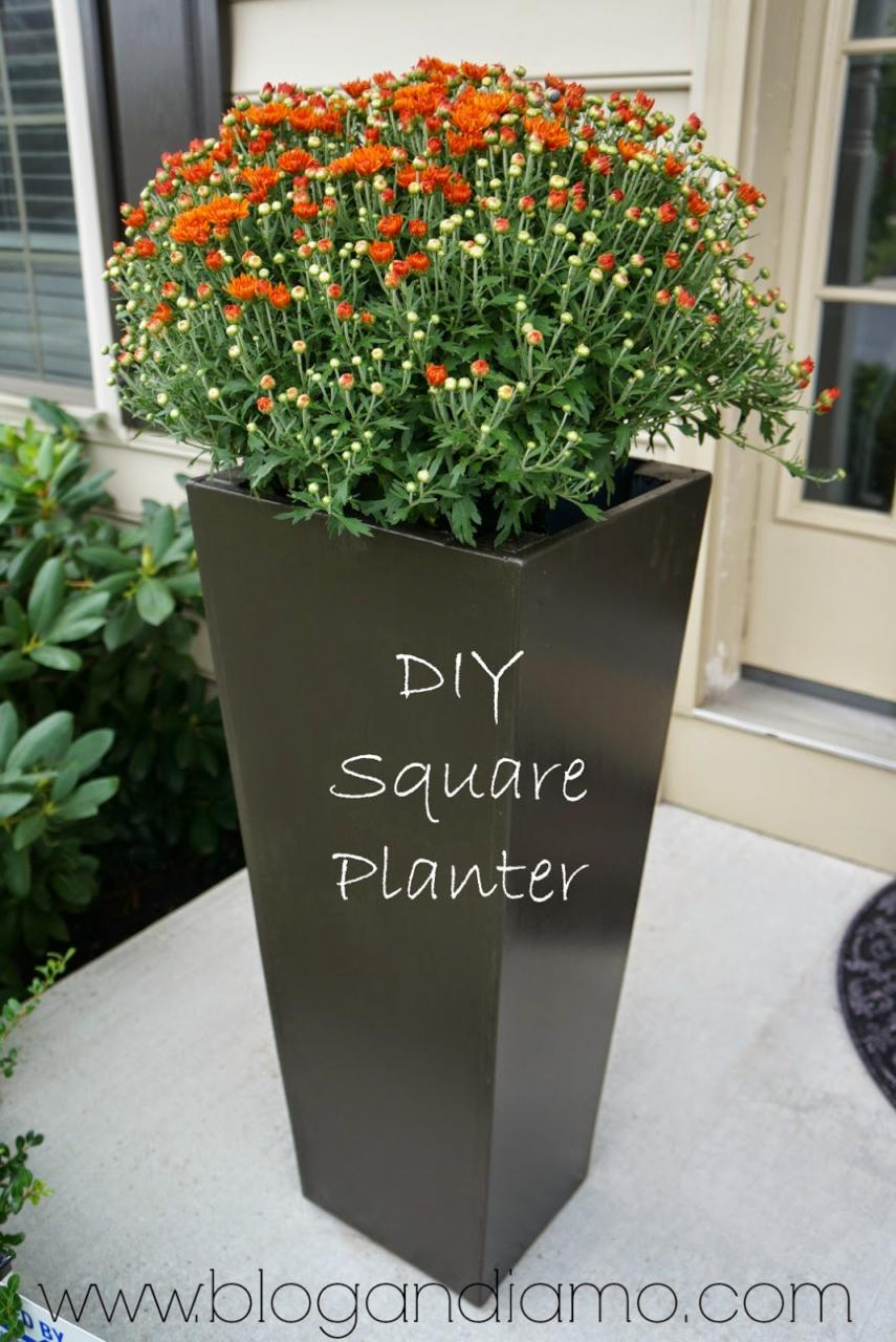 10 tall planter box plans for diy vertical trapezoid 100 free simple minimal planter plan izmirmasajfo