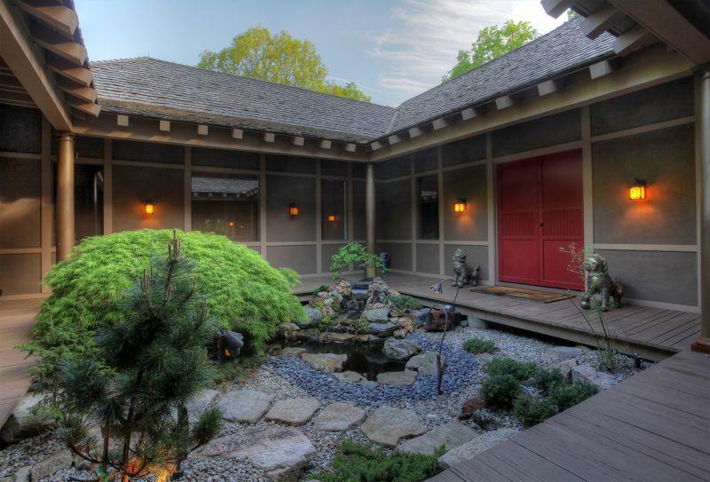Fu Dog Zen garden