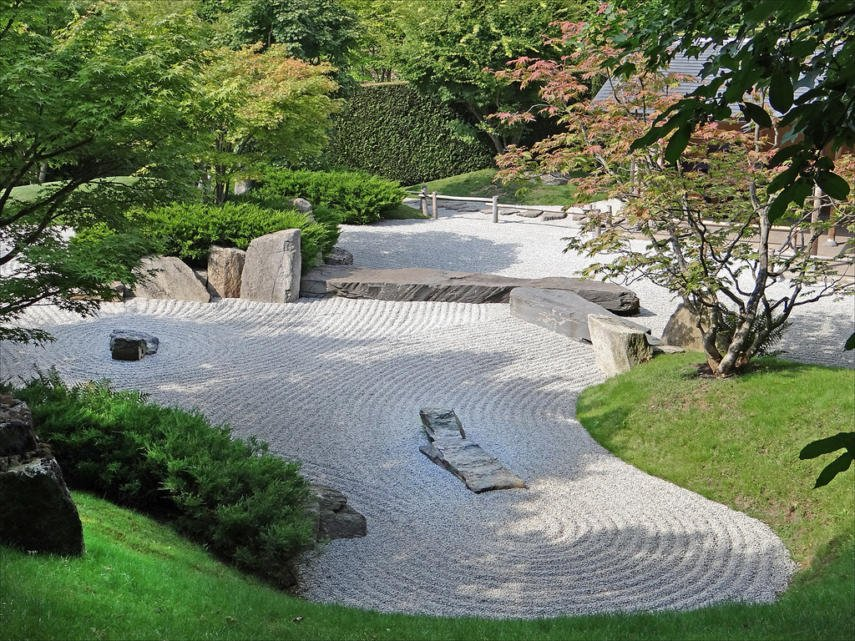 Long View Zen Garden
