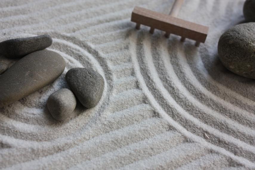 Zen garden raje