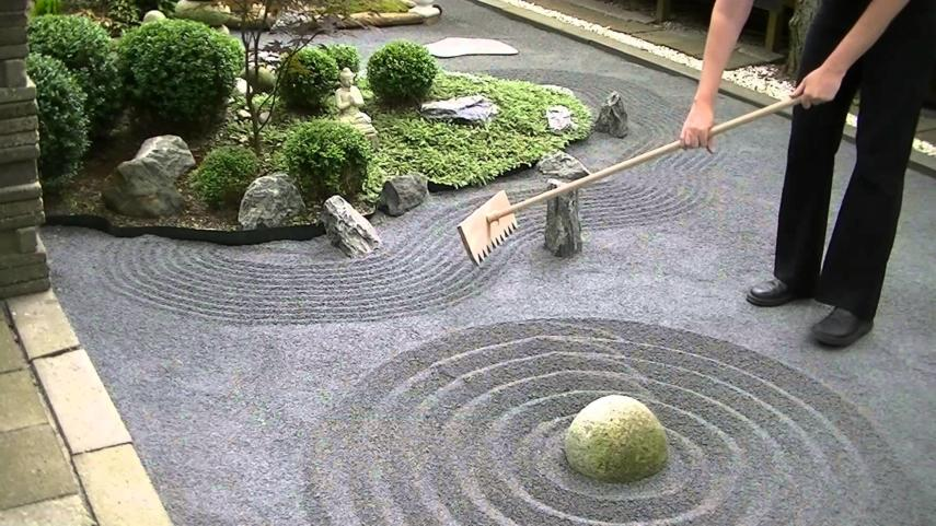Rake Your Zen Garden