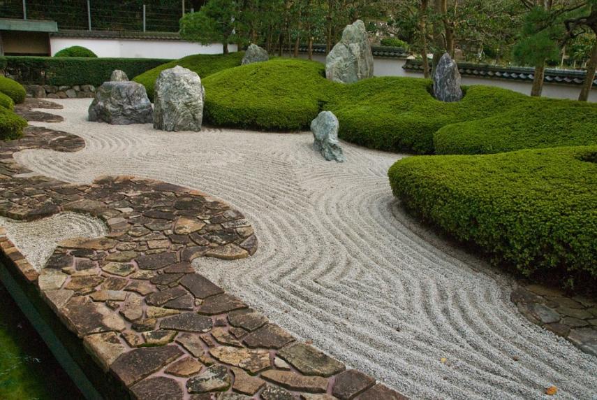 Paving stone path