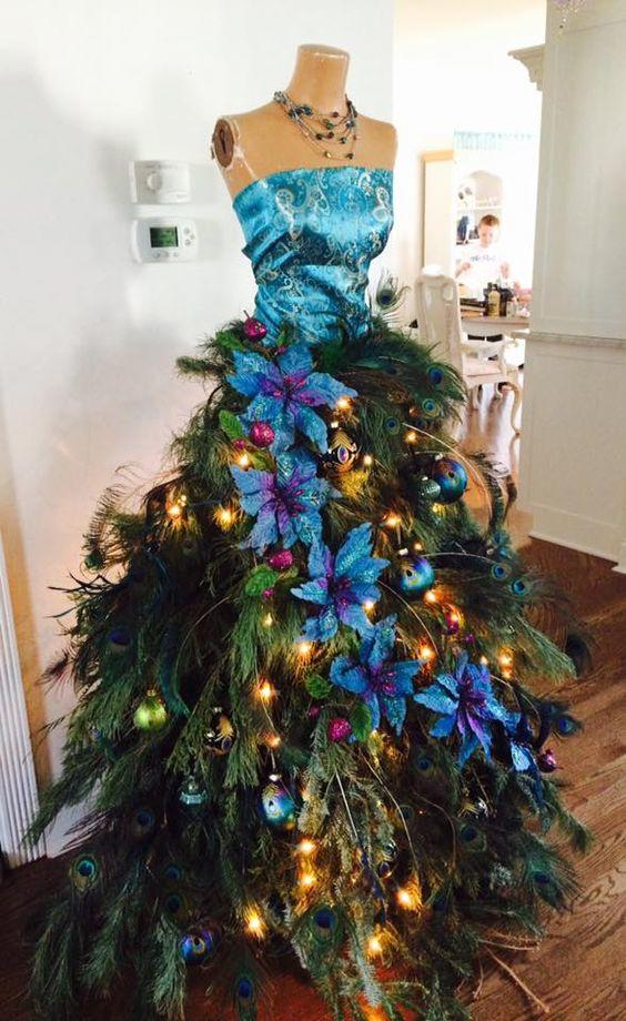 Dress Form Christmas Tree.Diy Mannequin Christmas Tree 9 Dress Form Tutorials Free