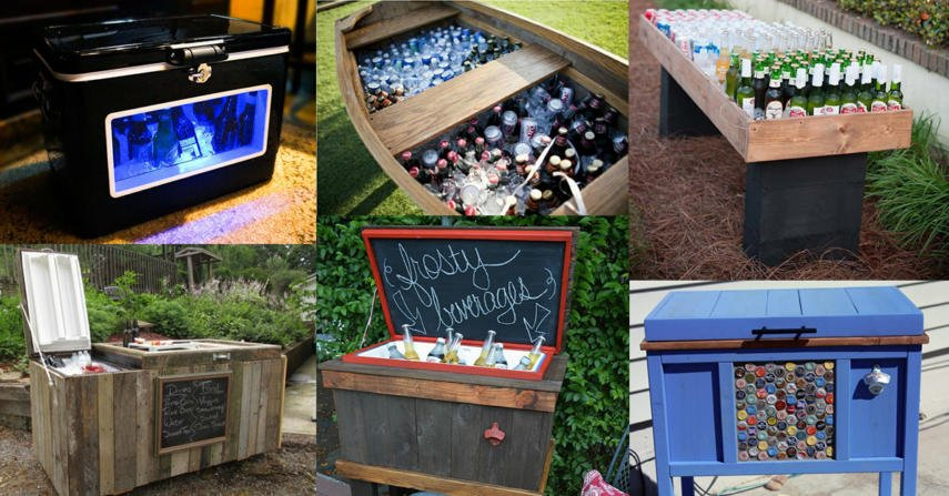 Outdoor Beverage Cooler Ideas DIY