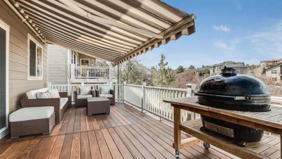 Awning covered deck could be your best idea