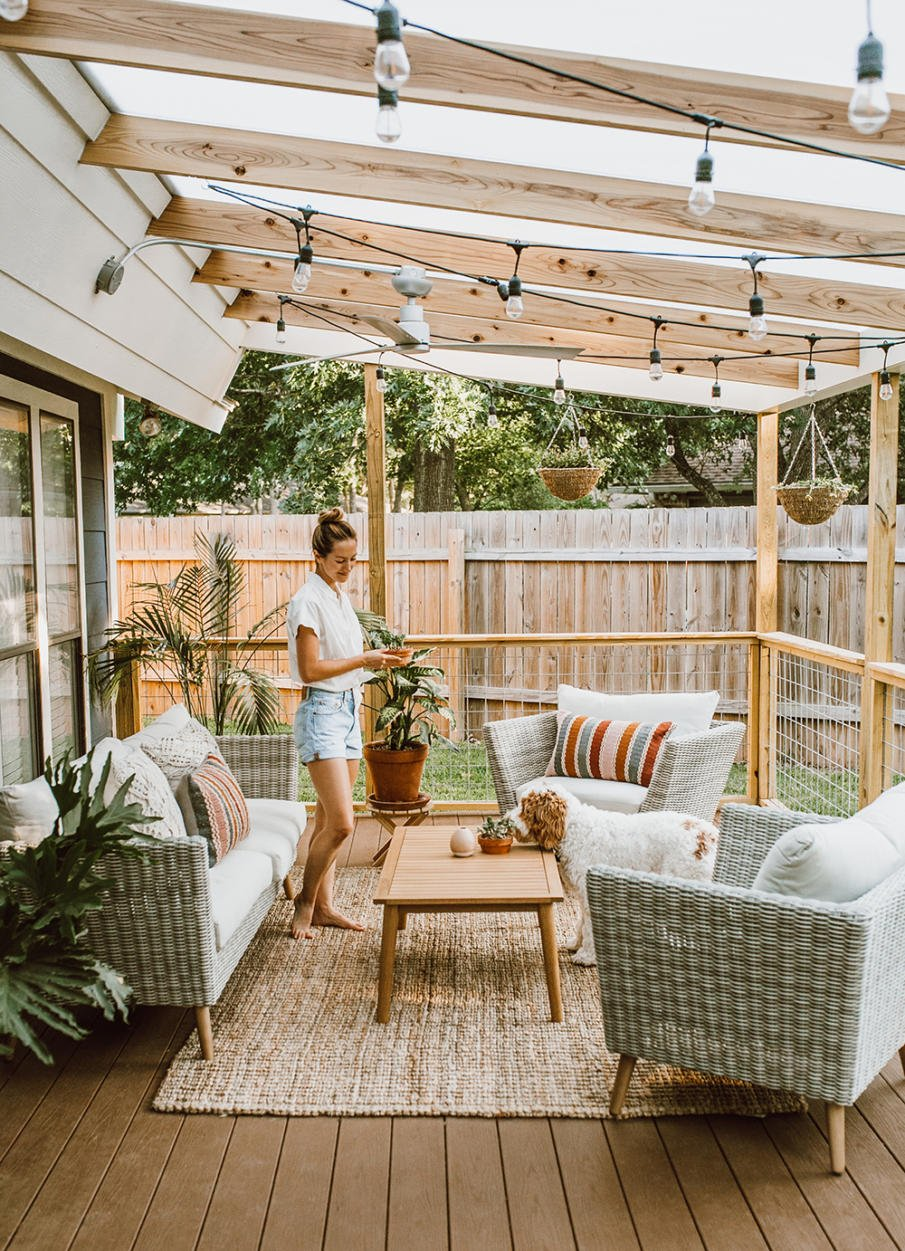 15 Covered Deck Ideas & Designs for Your Most Awesome ...