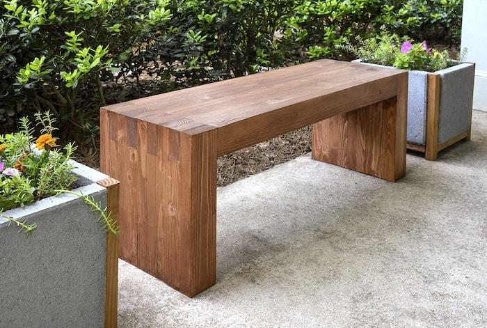 Williams Sonoma Inspired Outdoor Bench