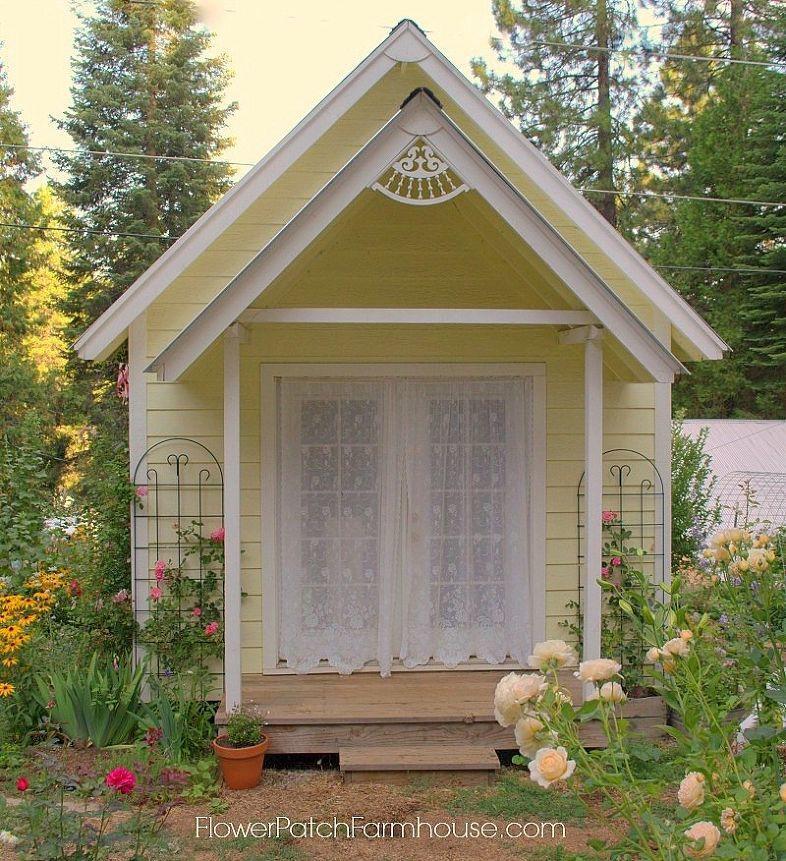 DIY Garden Studio or a Shed Shed design