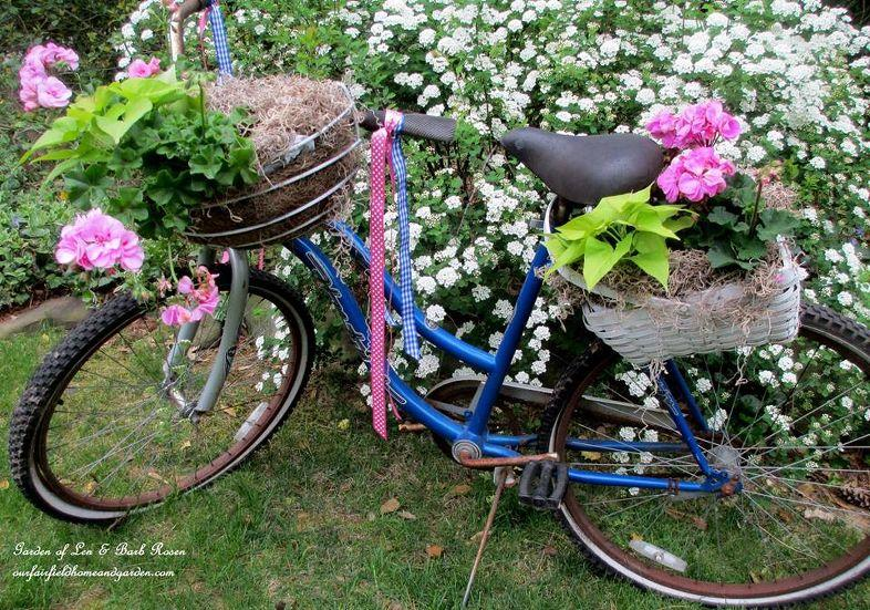 DIY Guide to making a bicycle planter