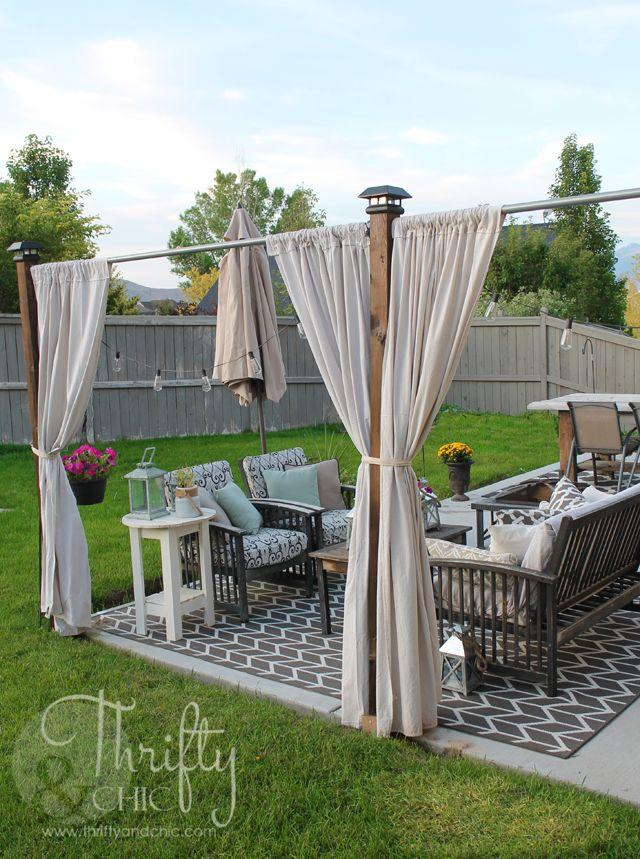 20 Outdoor Patio Privacy Screen Ideas