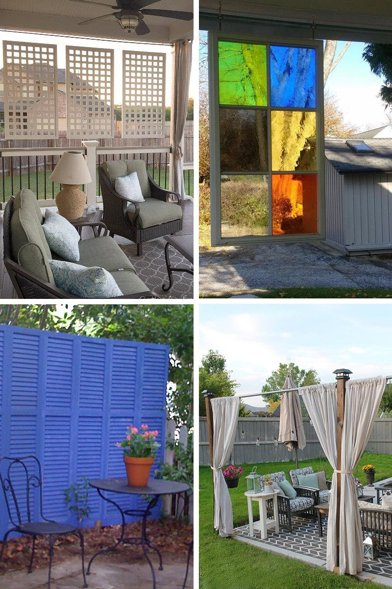 Diy Patio Privacy Screen Ideas: 20 Outdoor Patio Privacy Screen Ideas & DIY Tutorials