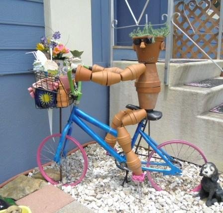Bike Pottery Art