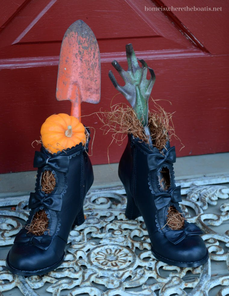 Witch's shoes