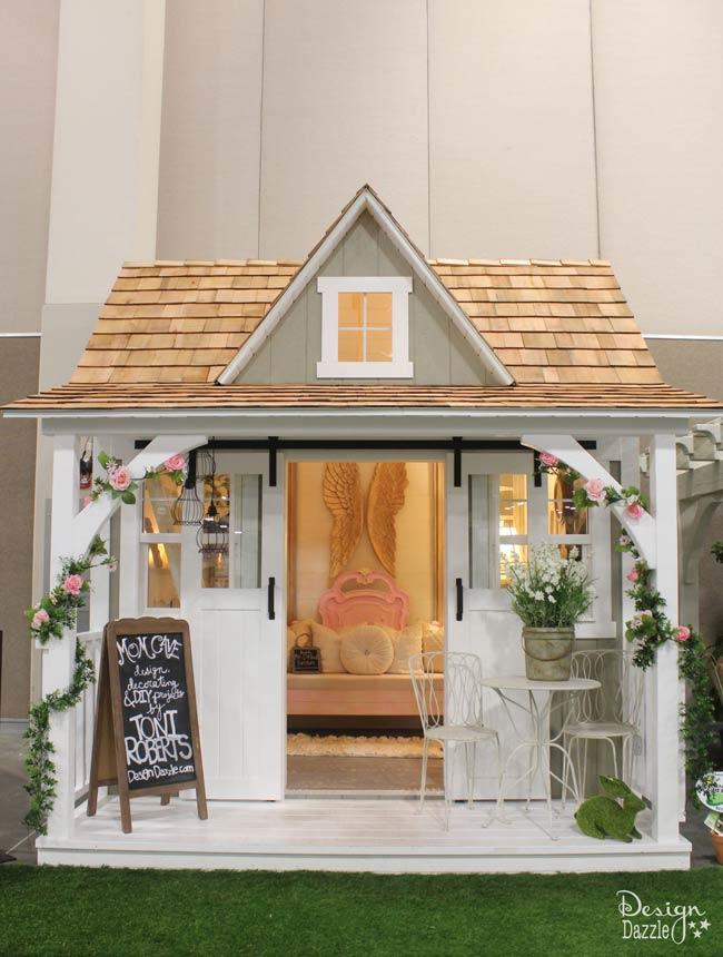 Shabby Chic Shed Decor