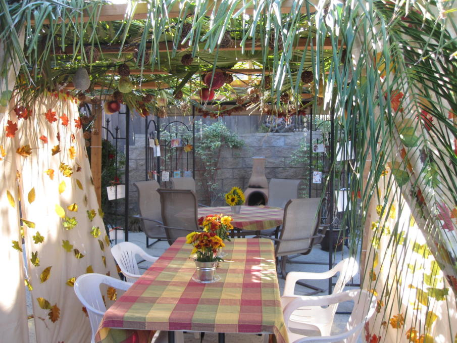 How to Build a Simple Sukkah