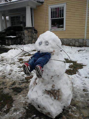 Kid-Eating Snowman