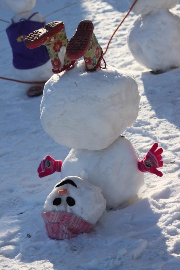 Toddler Snowman