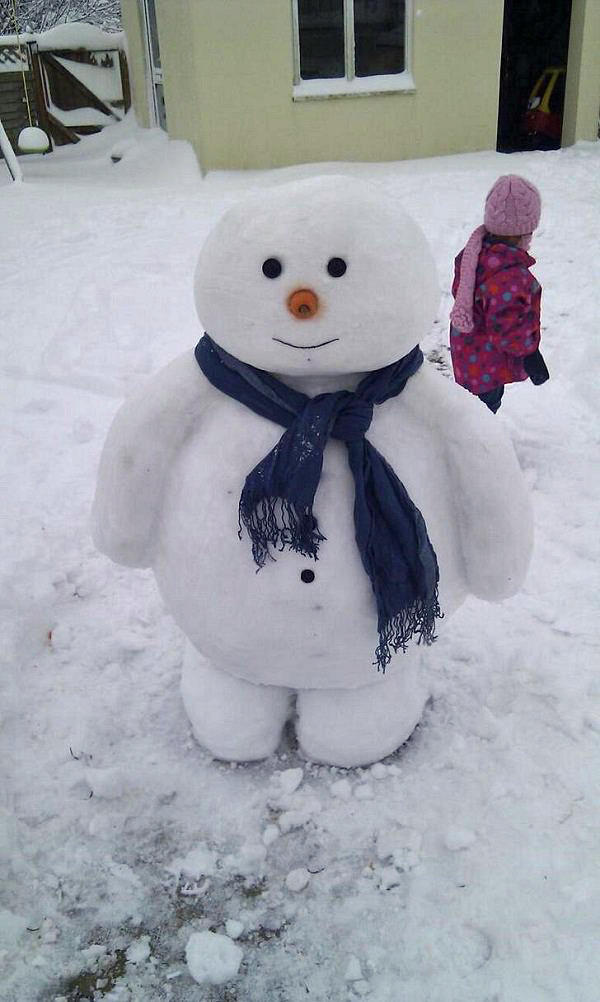 Cool Snowman idea