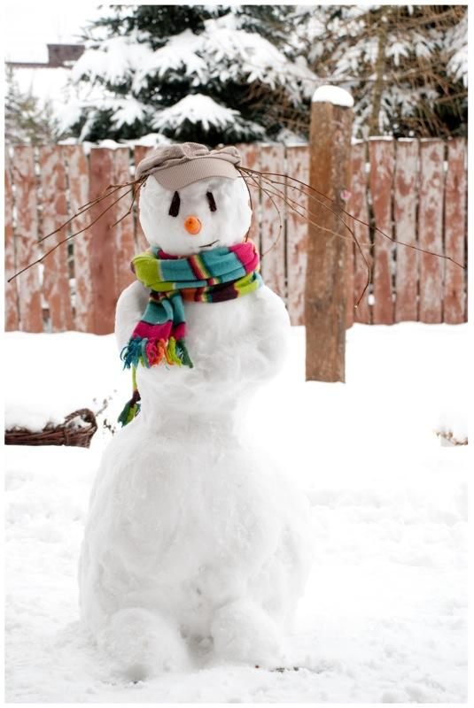 Creative Snowman outfit