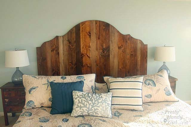 An awesome DIY guide to building a curved shape headboard