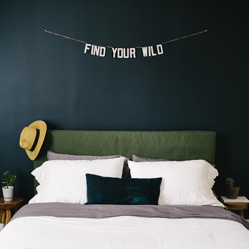 Hotel Inspired Headboard