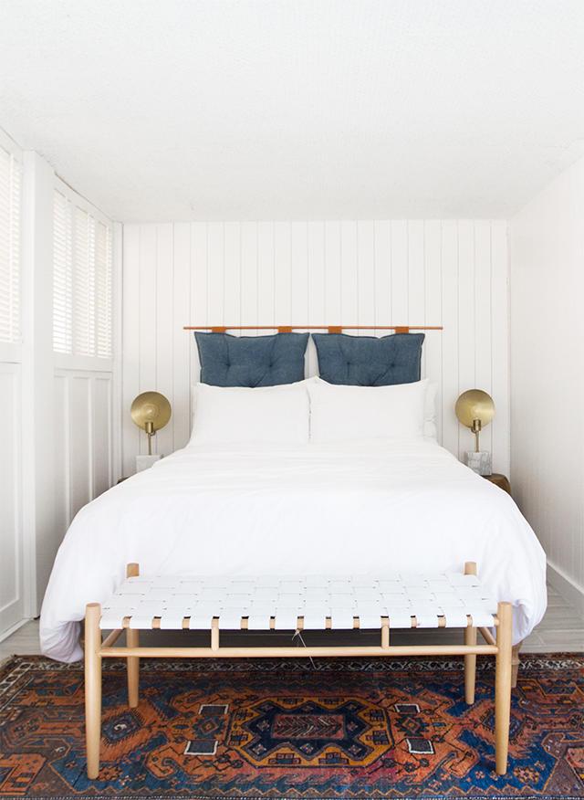 Wall Hung Pillows Headboard