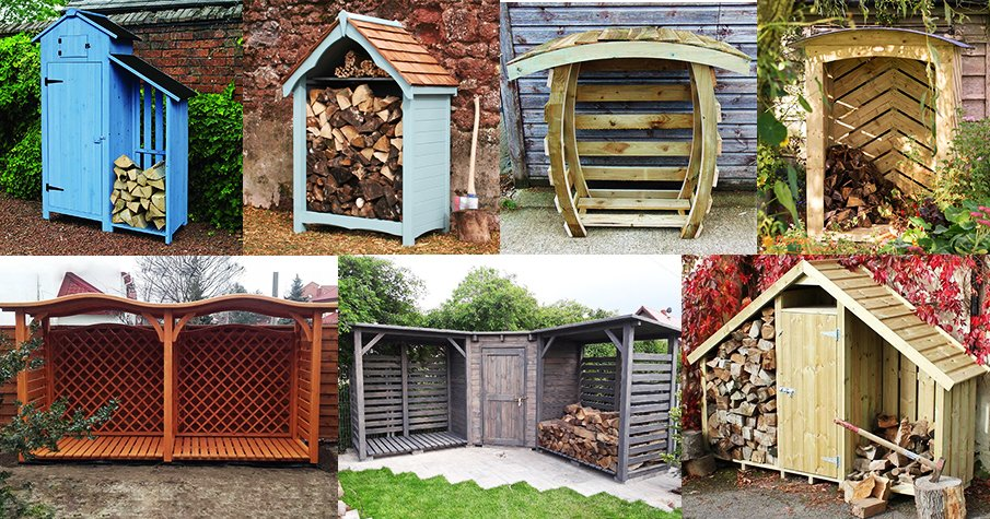 Outdoor Firewood Storage never looked so good