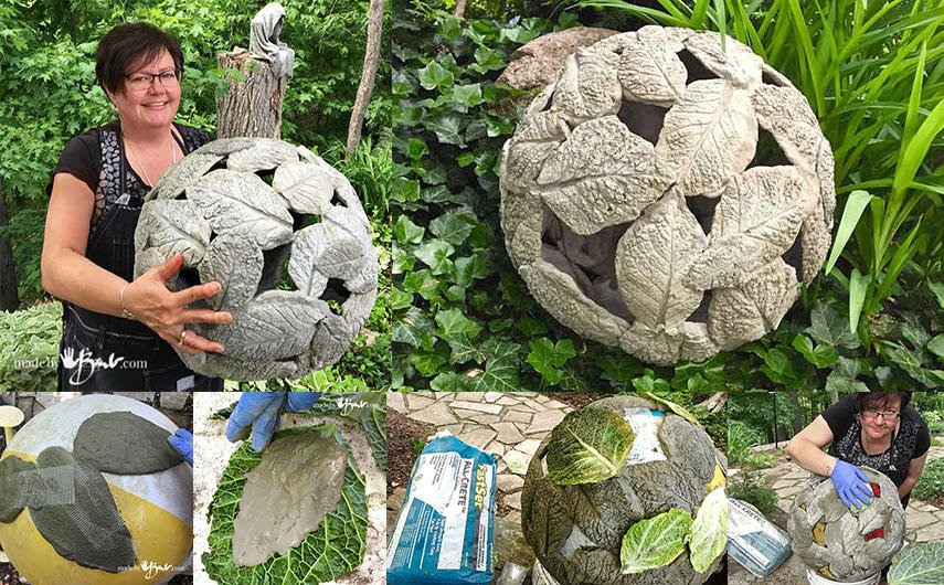 Top 15 Diy Garden Globes Gazing, How To Make Cement Garden Spheres