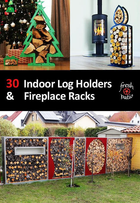 indoor log holders