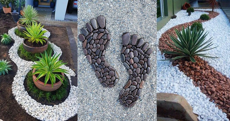 Landscaping with River Rock: Best 130 Ideas and Designs