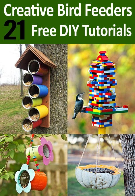 Most Creative DIY Bird Feeders Ideas