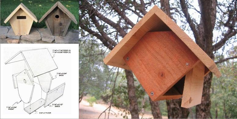 Wren Hanging Bird House Plans