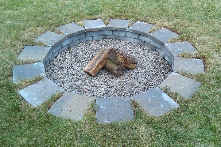 Cheapest fire pit idea