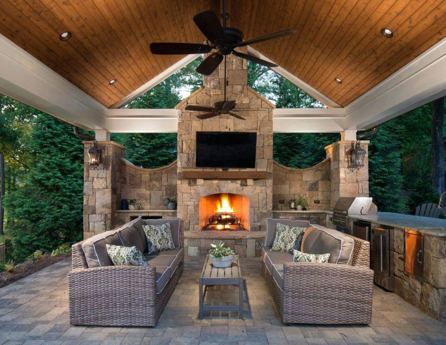 Covered patio ideas