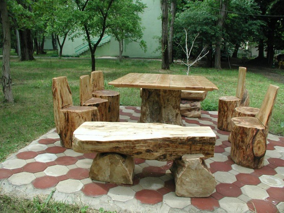 Creative outdoor seating design ideas