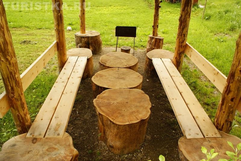 Creative outdoor seating idea