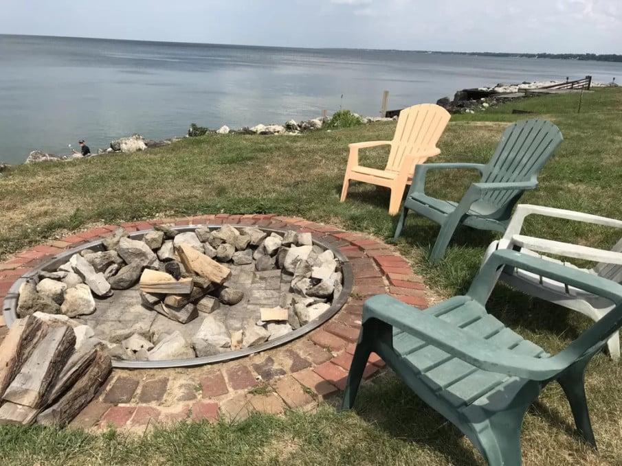 DIY brick fire pit designs