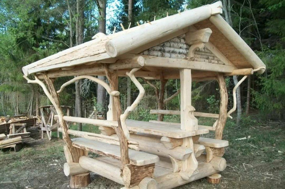 Rustic arbor bench designs