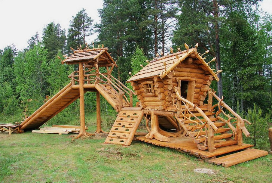 Unique backyard kids structures