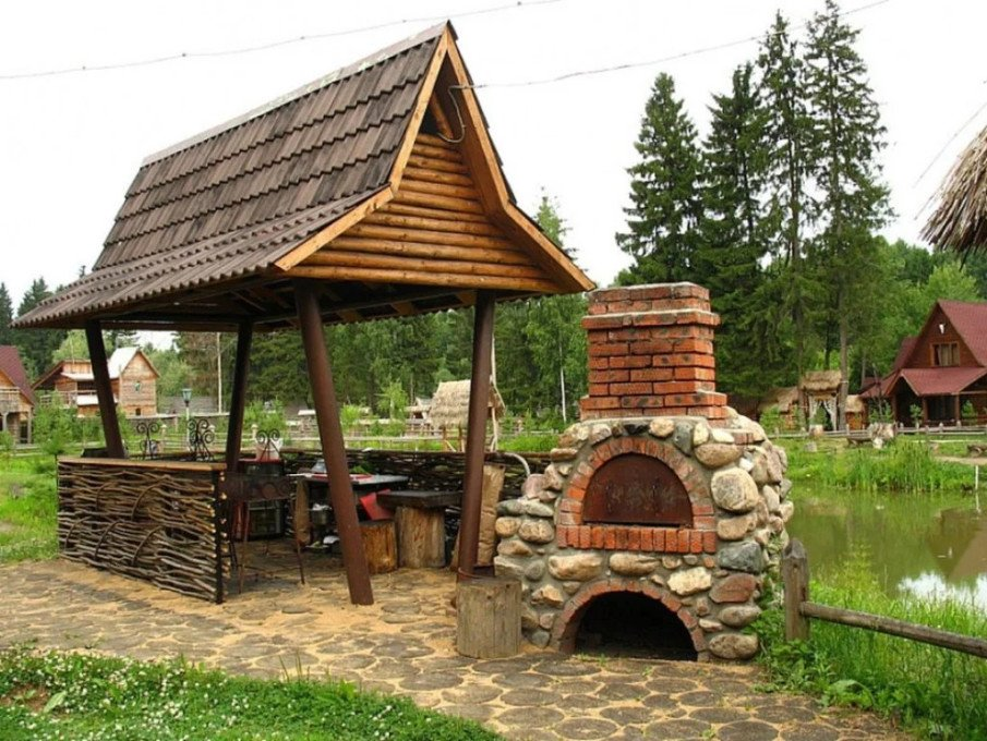 Unique backyard structure idea